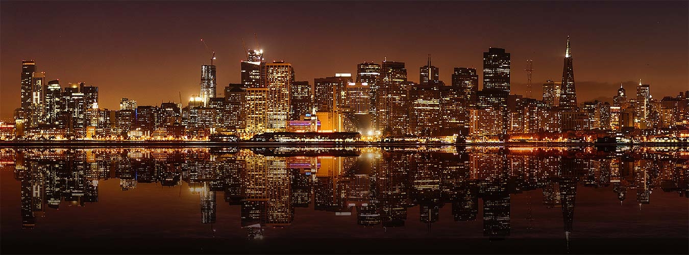 San Francisco Bayside Evening