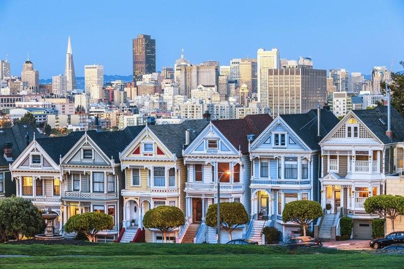 San Francisco Painted Ladies Homes